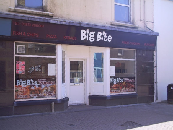 Big Bite Fish & Chips, Stornoway Takeaway Facilities
