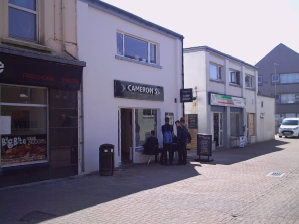 Cameron's Fish & Chip Shop, Stornoway Takeaway Facilities