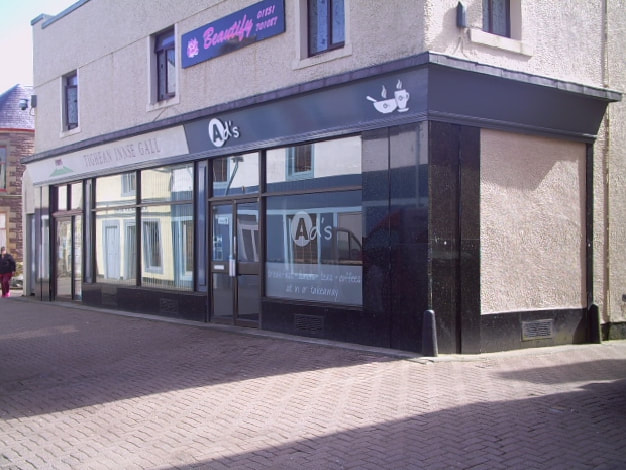 Ad's Cafe & Takeaway Stornoway Coffee Shop Cafe Facilities